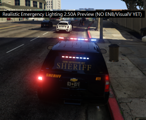 Realistic Emergency Lighting + ELS Enhancement - GTA5-Mods com