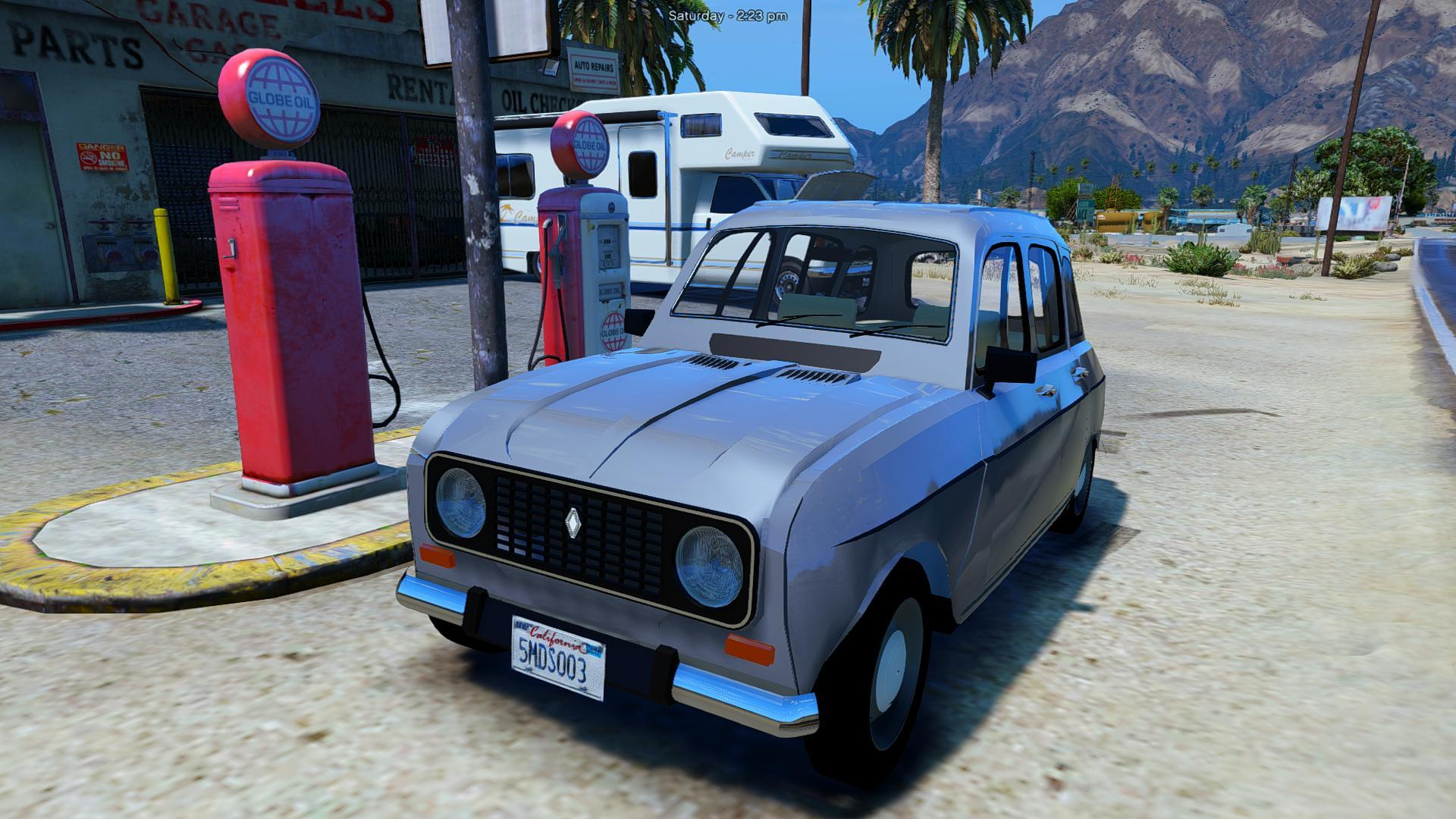 Renault 4l Add On Replace Gta5 Mods Com