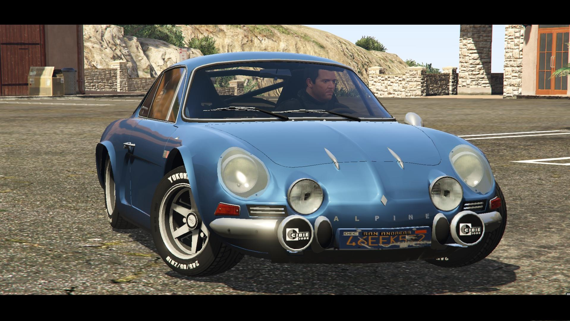 renault alpine a110 1600 s gta5. Black Bedroom Furniture Sets. Home Design Ideas