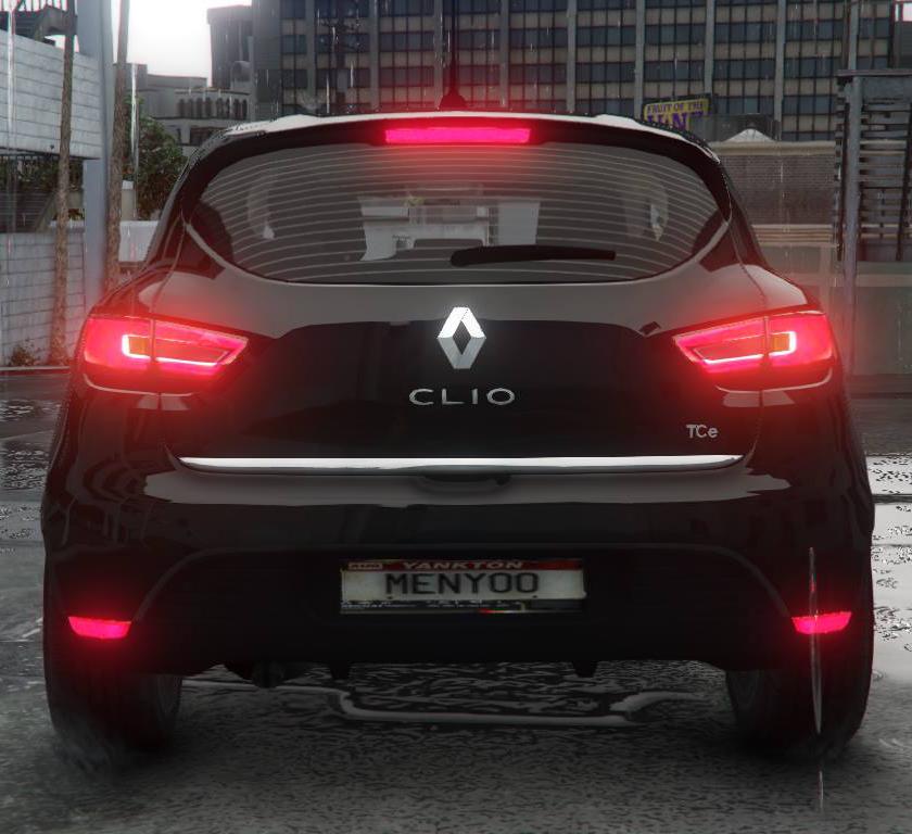 Renault Clio 4: Renault Clio 4 [Digital Dials]