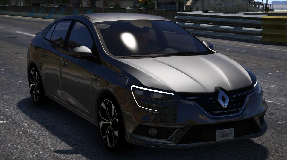 renault megane iv sedan add on gta5. Black Bedroom Furniture Sets. Home Design Ideas