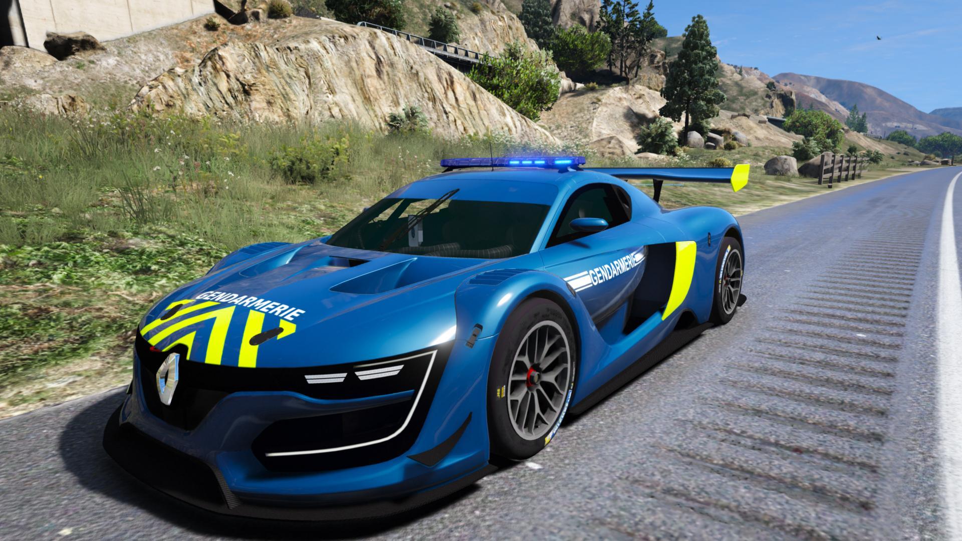 Renault Rs 0 1 Gendarmerie