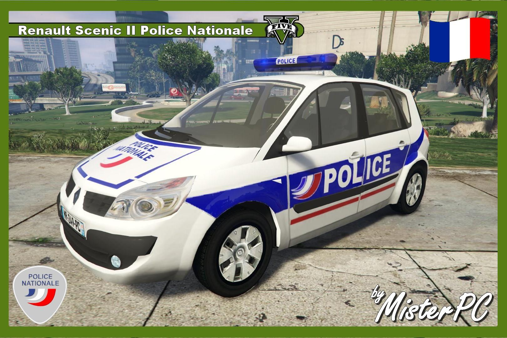 Renault Scenic II Police Nationale - GTA5-Mods.com