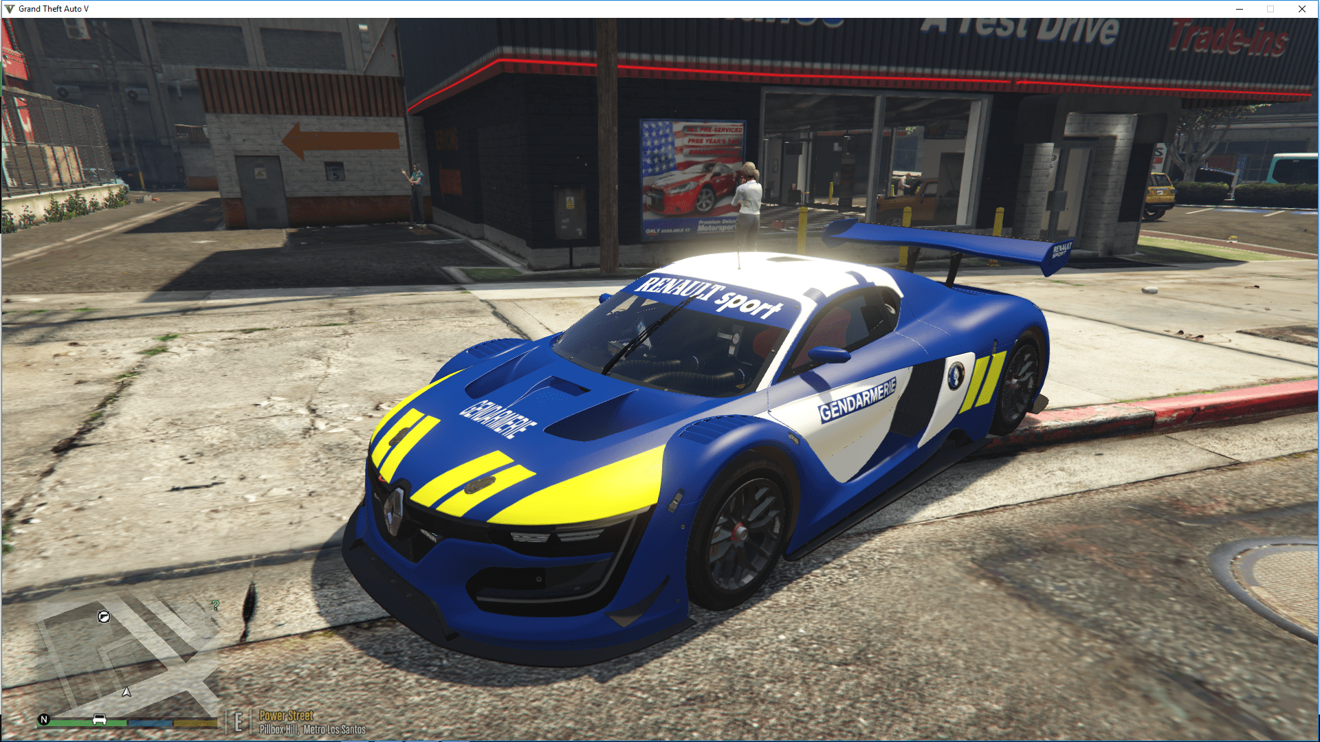 renault sport rs gendarmerie gta5. Black Bedroom Furniture Sets. Home Design Ideas