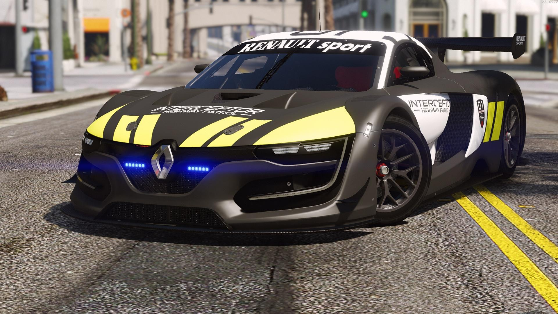 renault sport rs interceptor add on replace template gta5. Black Bedroom Furniture Sets. Home Design Ideas