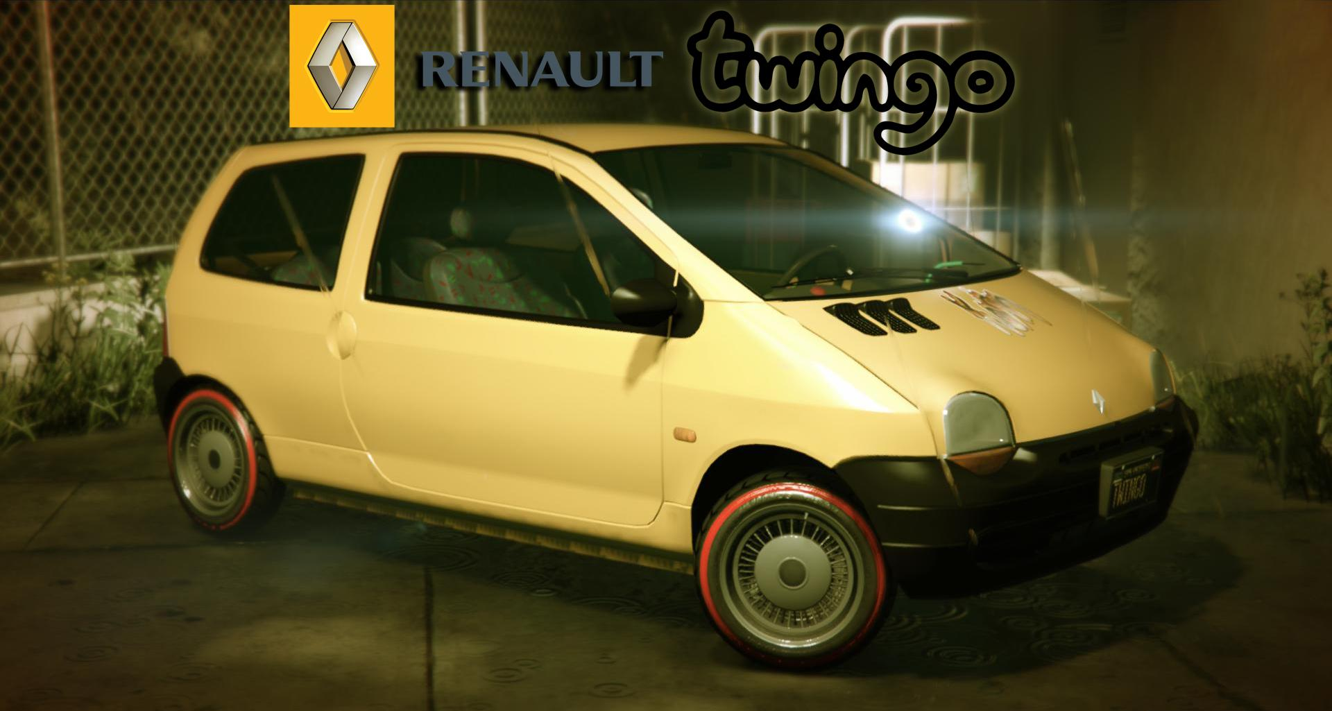 renault twingo i add on replace gta5. Black Bedroom Furniture Sets. Home Design Ideas