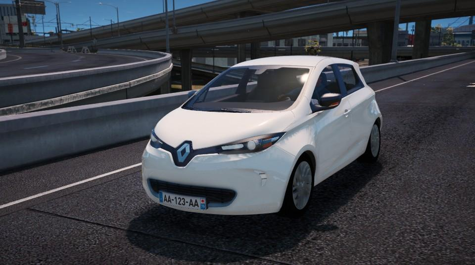 renault zoe 2013 add on replace unlocked gta5. Black Bedroom Furniture Sets. Home Design Ideas