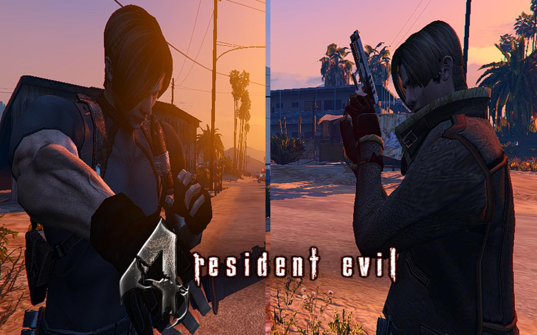 Resident Evil 4 Leon S Kennedy Hd Gta5 Mods Com
