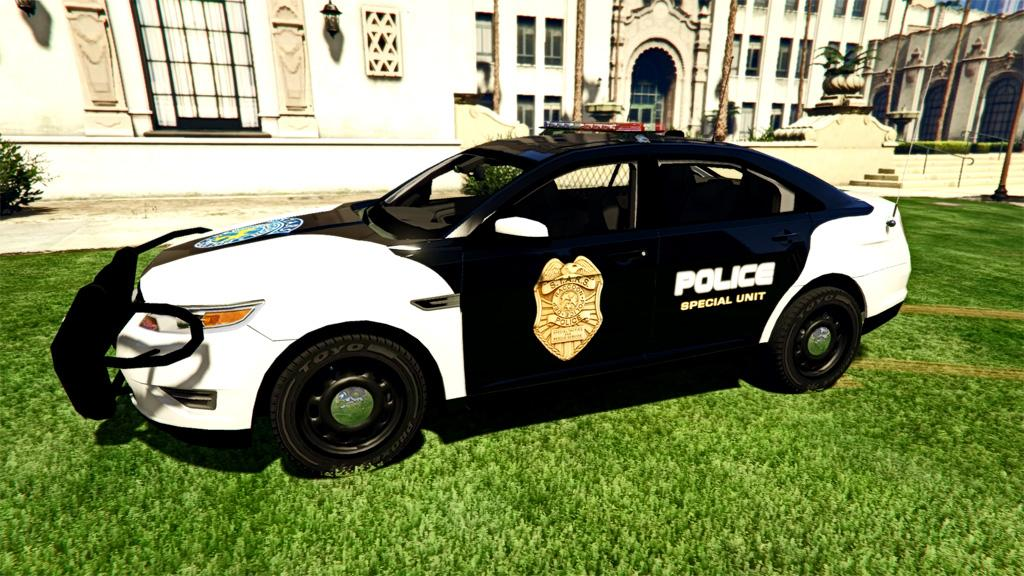 resident evil series raccoon police s t a r s and uss 2012 ford taurus interceptor gta5. Black Bedroom Furniture Sets. Home Design Ideas