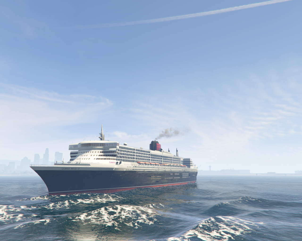 2003 rms queen mary 2 add on gta5 for Garderobe queen mary 2