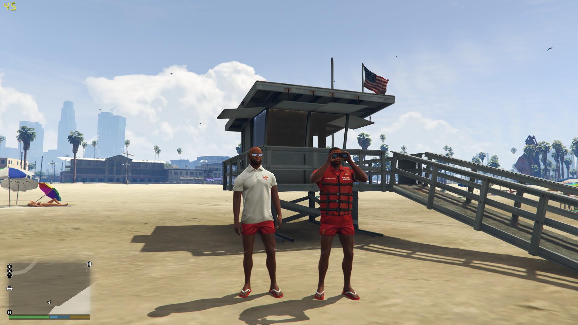 rnli lifeguard pack gta modscom