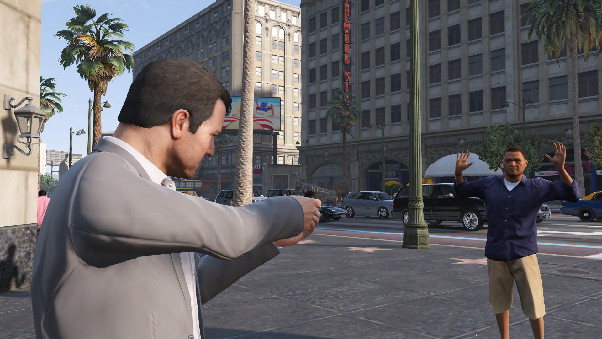 how to change people in gta v