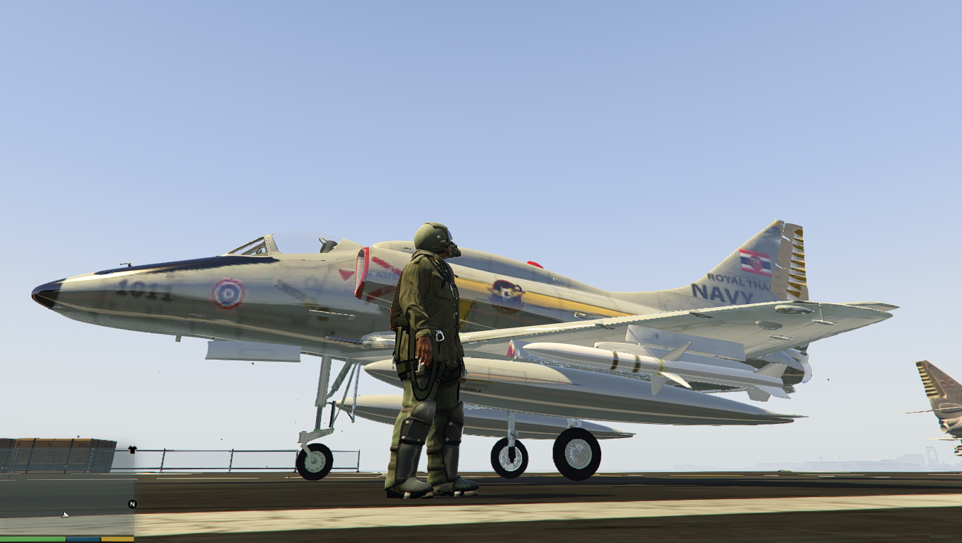 Royal Thai Navy A-4 Skyhawk - GTA5-Mods com