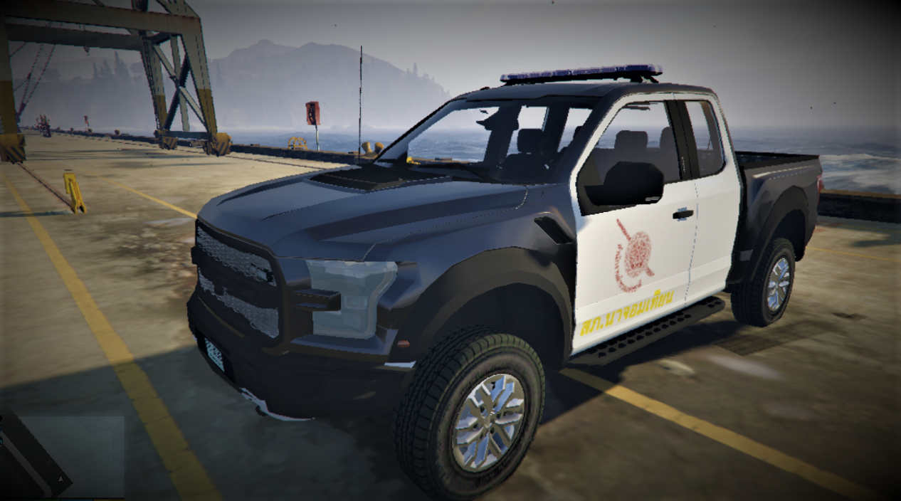 royal thai police ford f 150 raptor 2017 gta5. Black Bedroom Furniture Sets. Home Design Ideas
