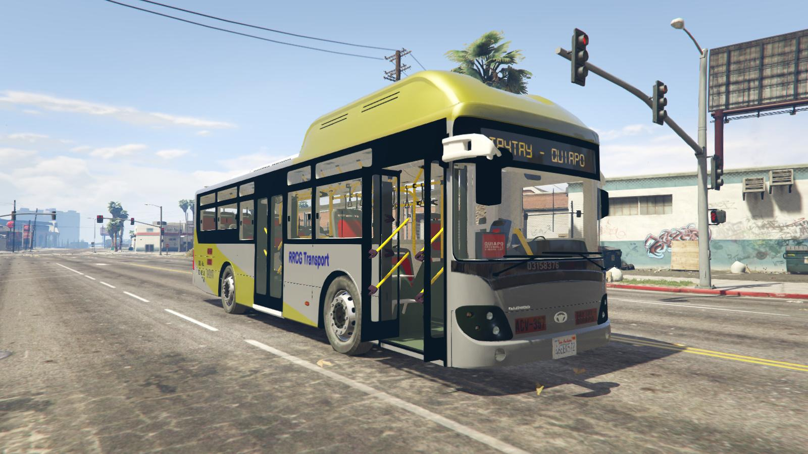RRCG Transport Bus Livery for Daewoo BS110CN - GTA5-Mods.com