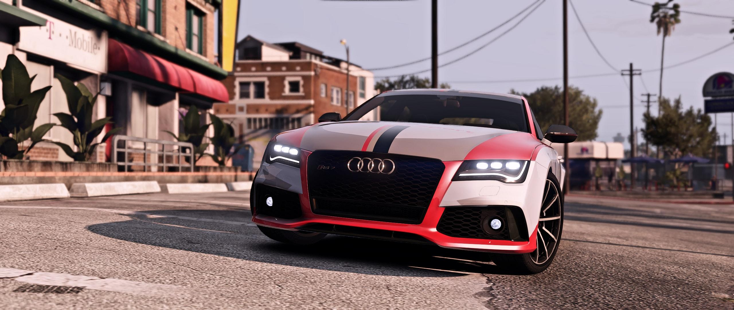 Rs Style Livery For Tk0wnz Audi Rs7 8k 4k Gta5 Mods Com