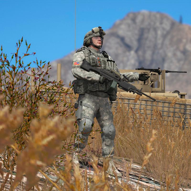 SA/CA US ARMY PACK - GTA5-Mods.com
