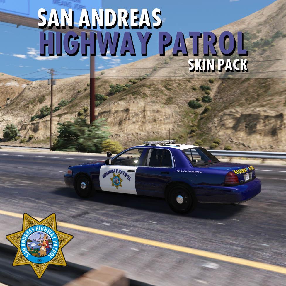 San Andreas Highway Patrol (SAHP) Pack