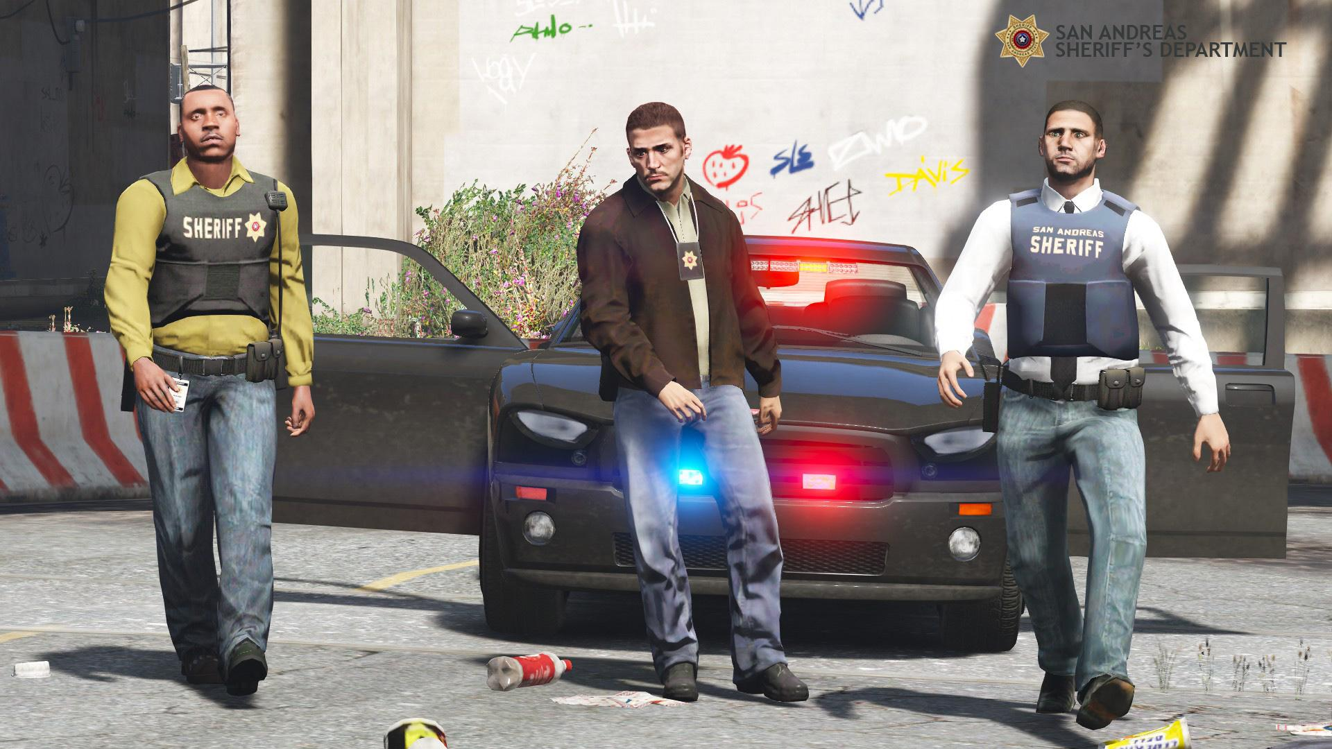 San Andreas Sheriff S Detectives Gta5 Mods Com