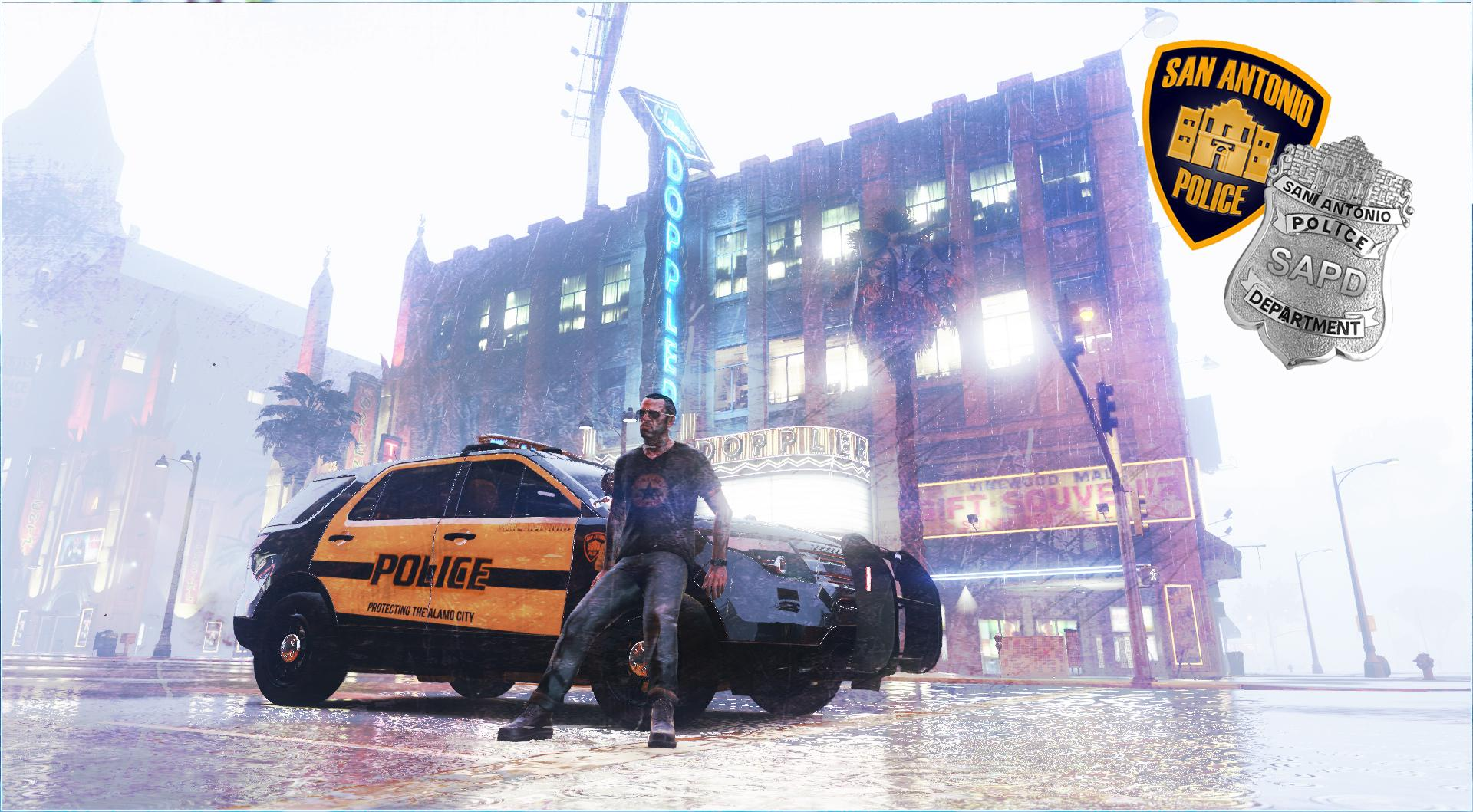 Taxi San Antonio >> San Antonio Police Livery [SAPD] (Ford Explorer 2014 ...