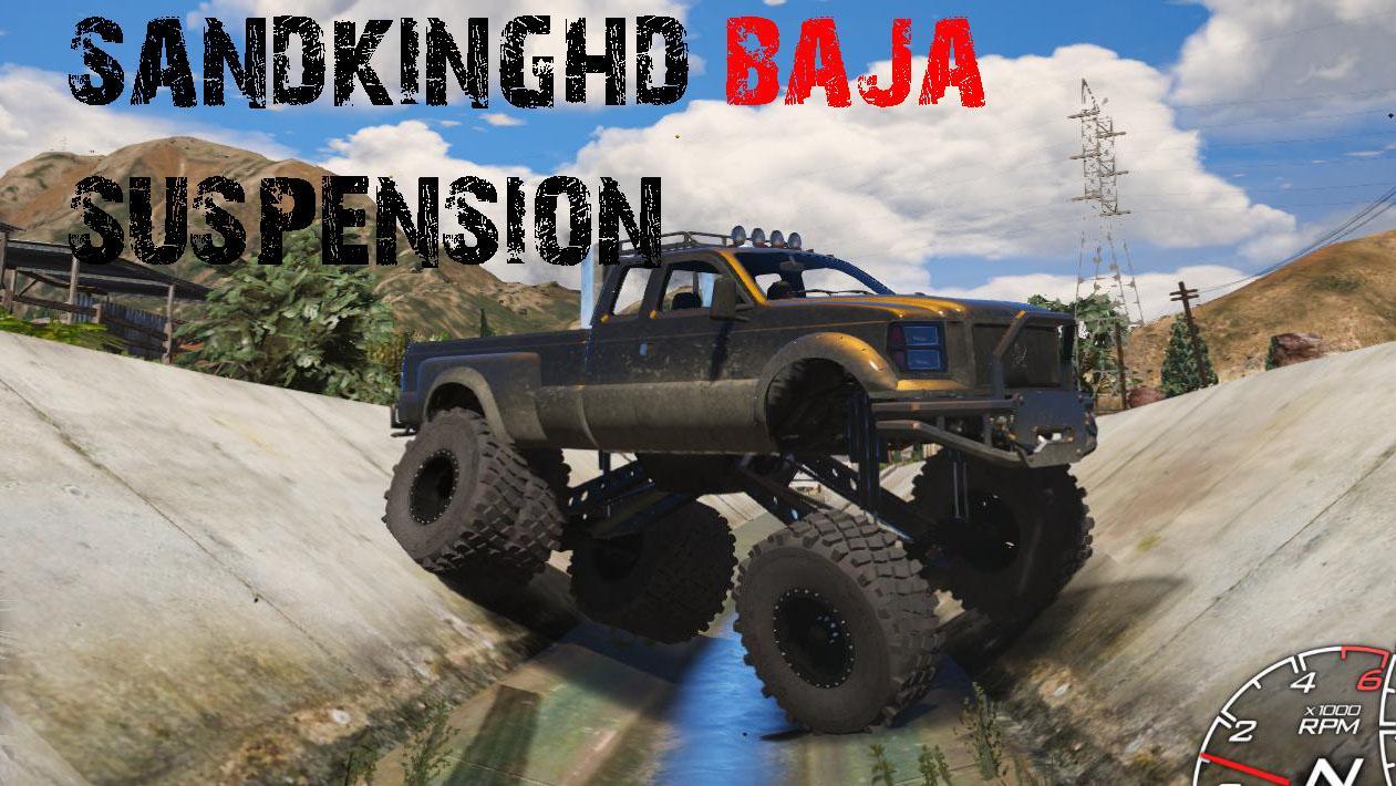 Sandking Hd Monster Dually Off Road Handling Gta5 Mods Com