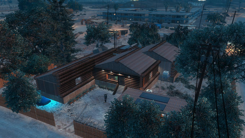 Sandy shores log house gta5 for House map maker