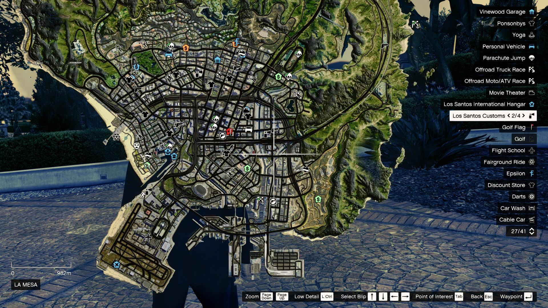 4K Satellite View Map GTA5