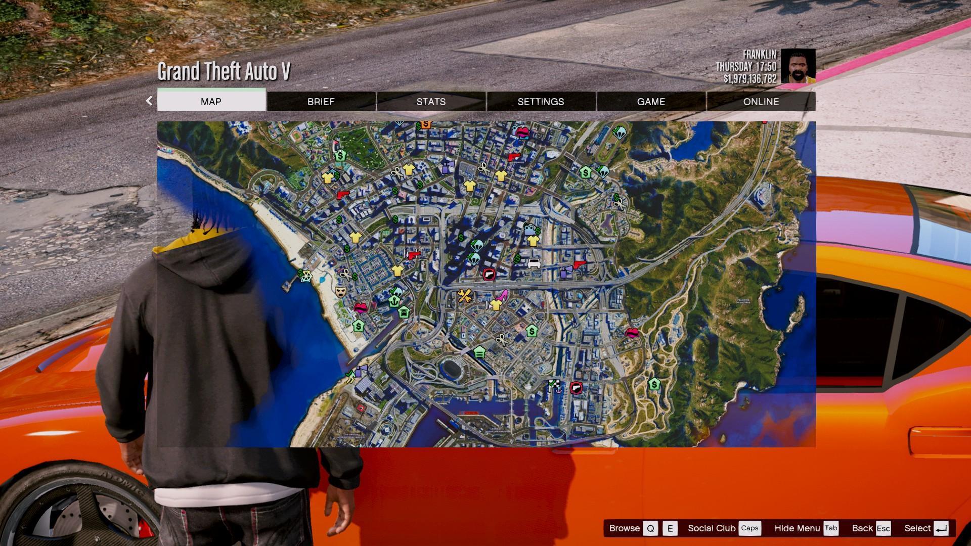 Mini Trophy Truck >> 4K Satellite View Map bundled with radar mod & zoom script. - GTA5-Mods.com