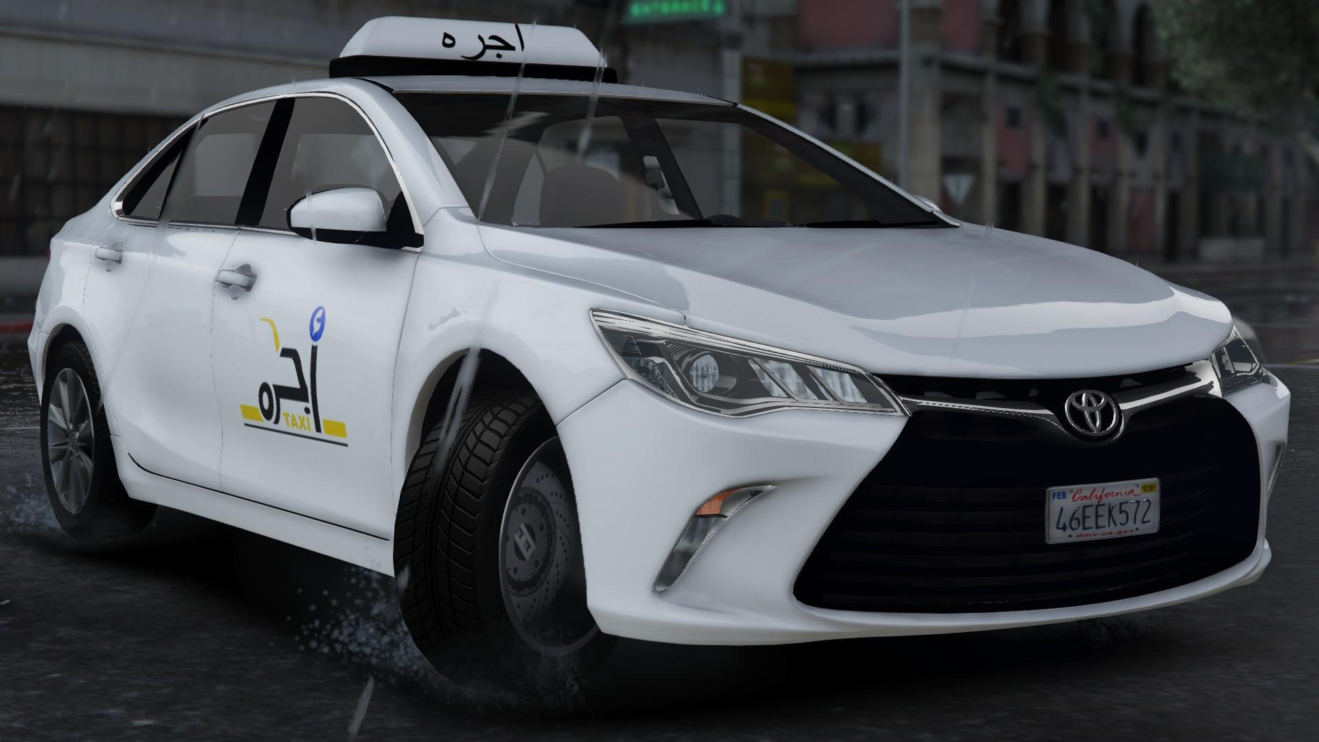 2017 Camry Xse >> Saudi Taxi Toyota Camry 2017 - GTA5-Mods.com