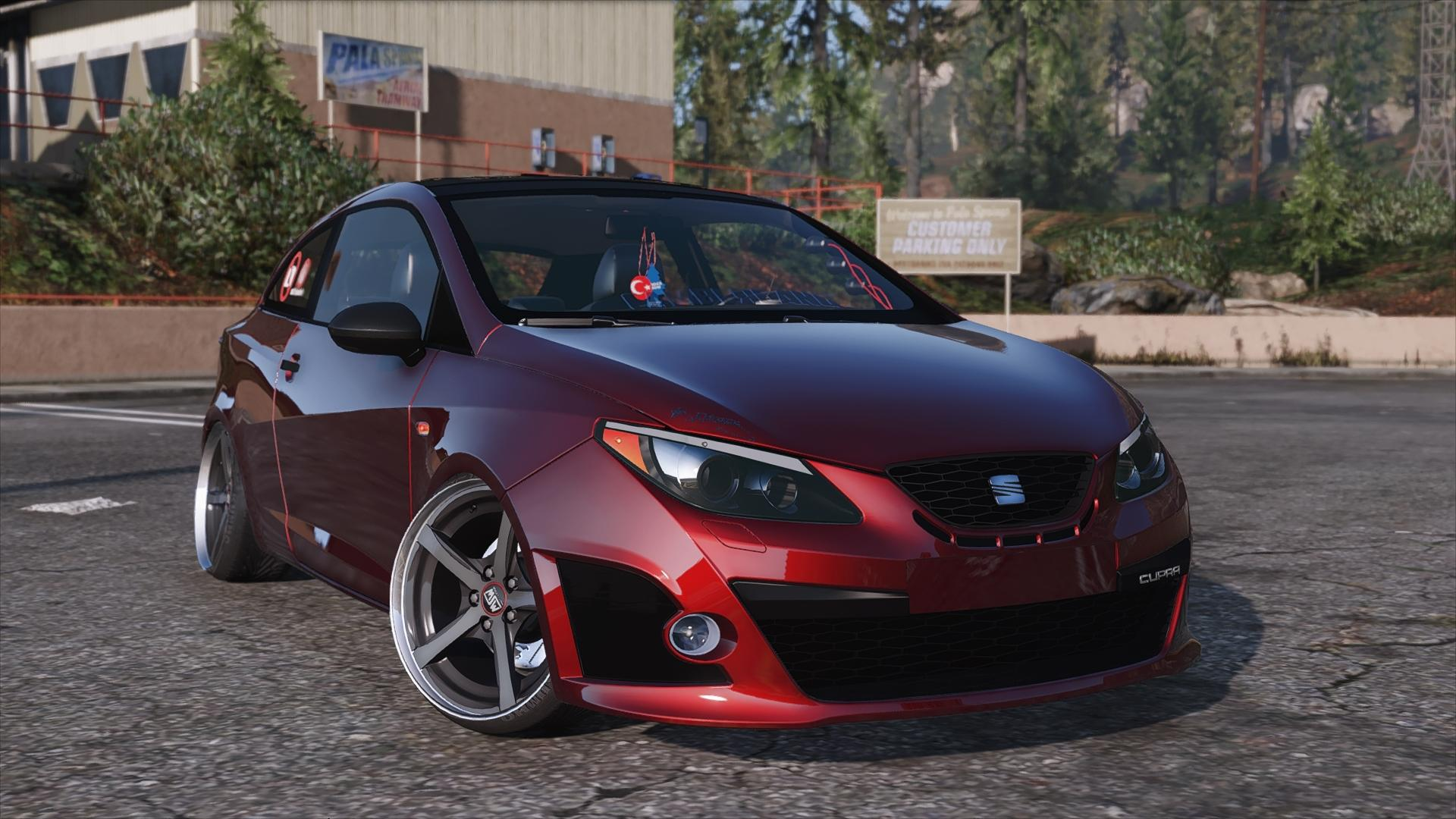 seat ibiza cupra add on gta5. Black Bedroom Furniture Sets. Home Design Ideas