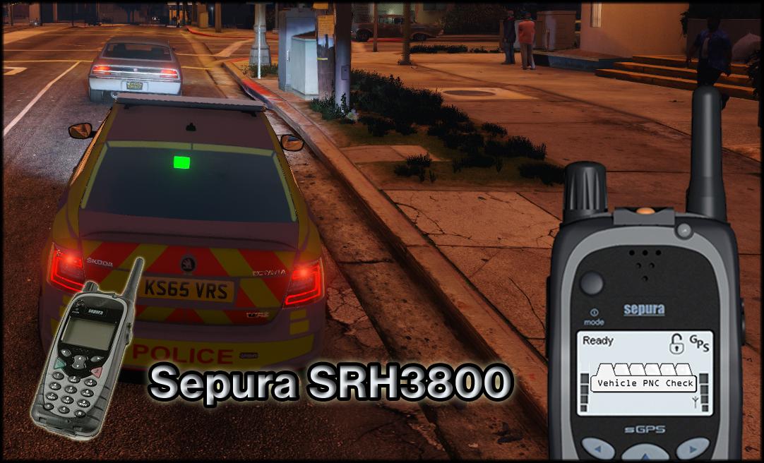 Sepura Srh3800 Radio For Police Radio Mod Gta5 Mods Com