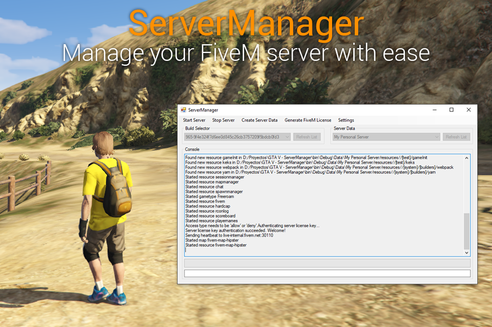 LambentLight (Server Manager for FiveM) - GTA5-Mods com