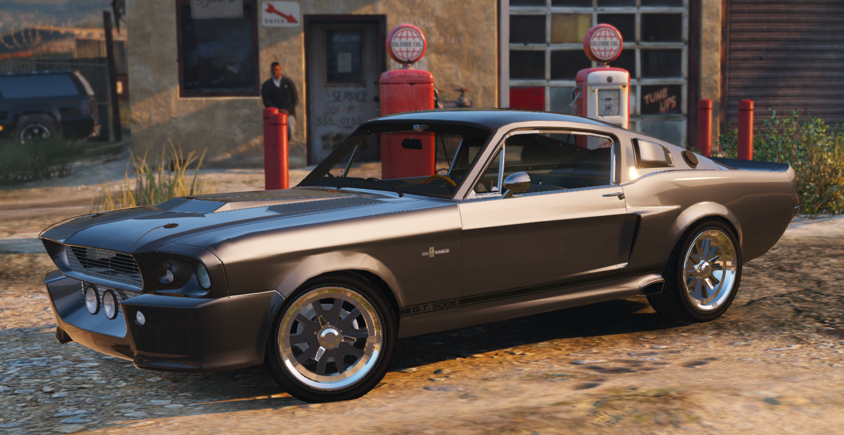 Shelby Gt500 Eleanor Add On Gta5 Mods Com