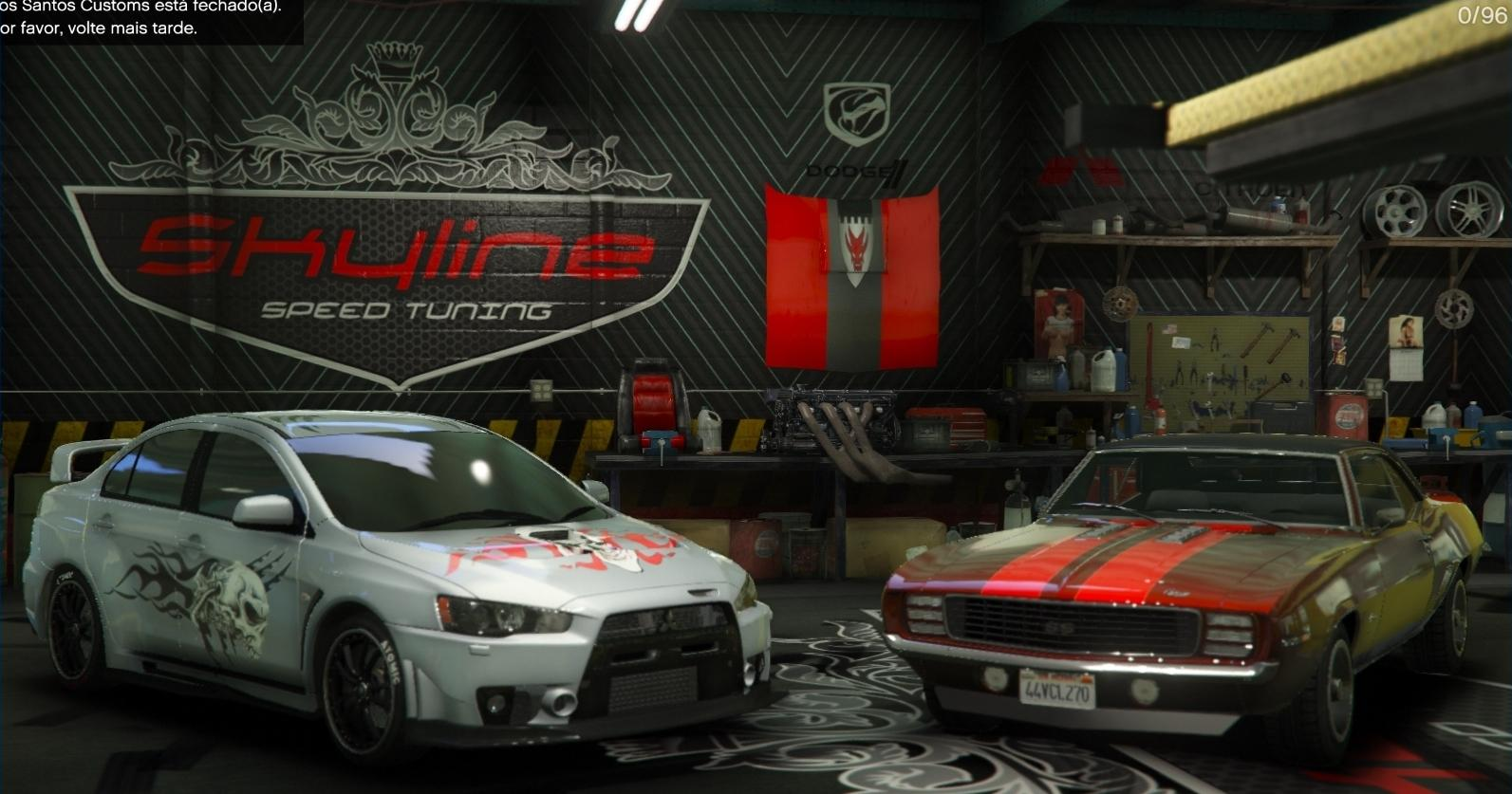 Skyline speed tuning garage gta5 for Garage tuning marseille
