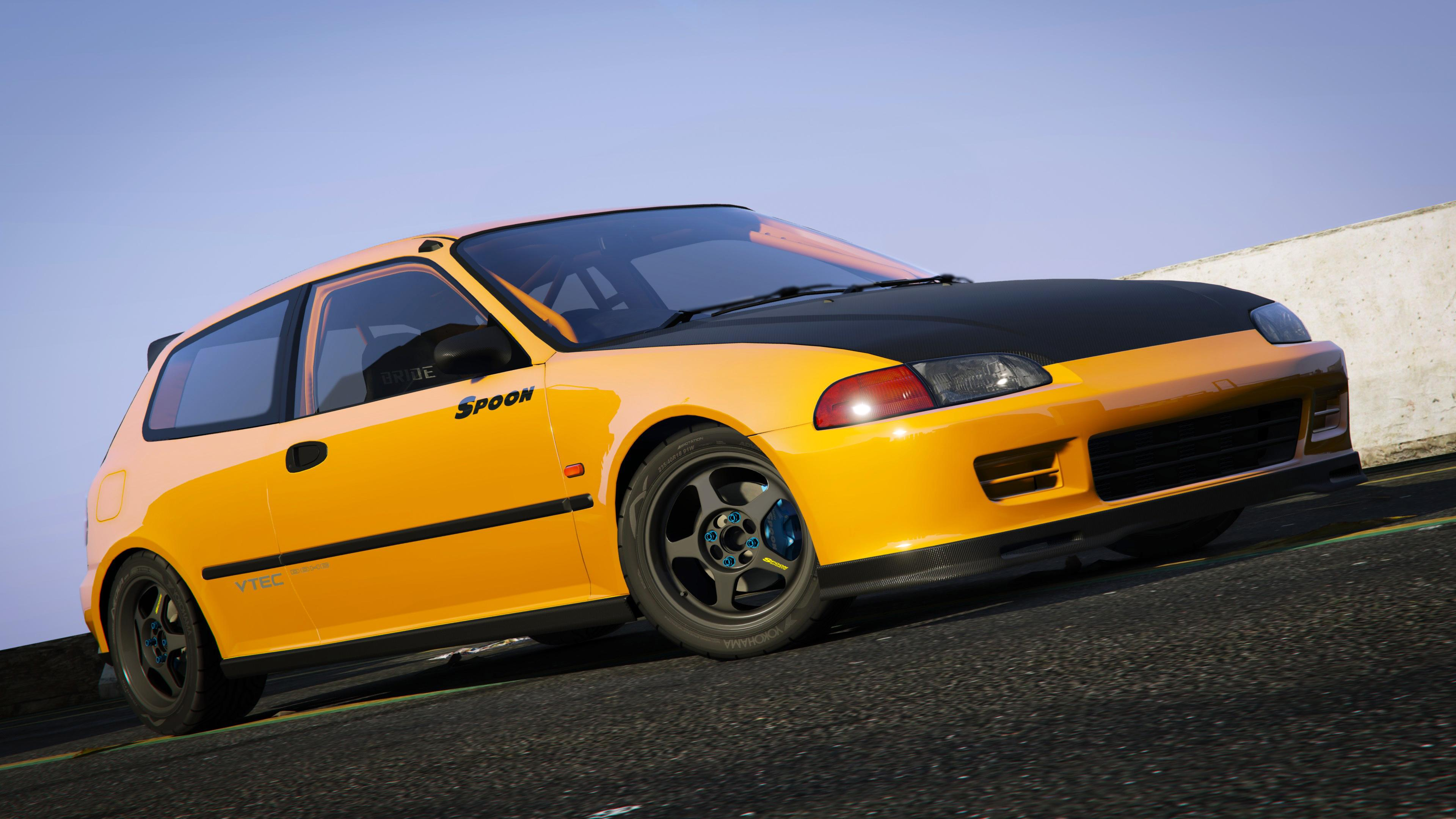 Spoon sports honda civic sir eg6 add on gta5 for Honda civic com