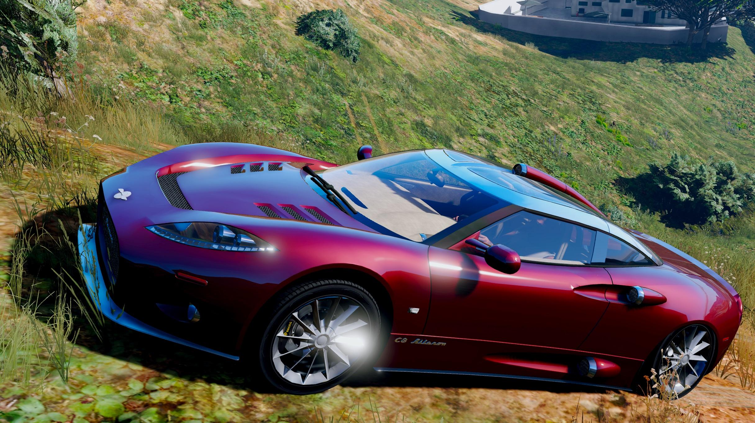 Spyker C8 Aileron Add On Gta5 Mods Com