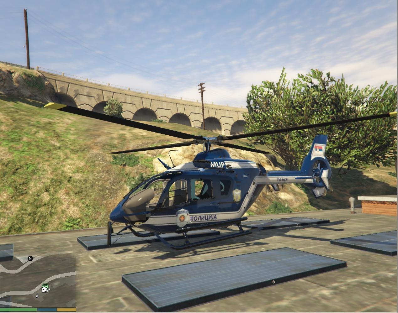 Srbski policijski helikopter (Eurocopter) - GTA5-Mods.com