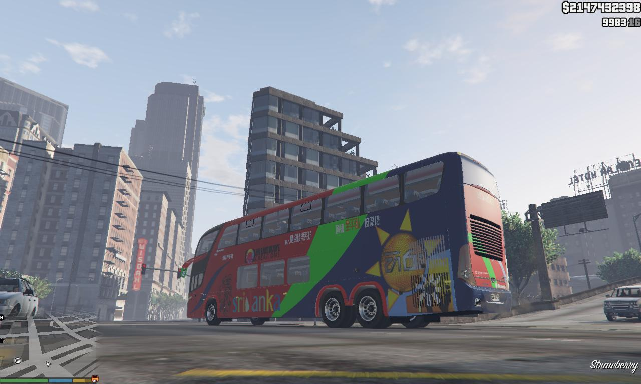 Sri Lanka Luxury Private Bus - Hiru TV Mod - GTA5-Mods.com