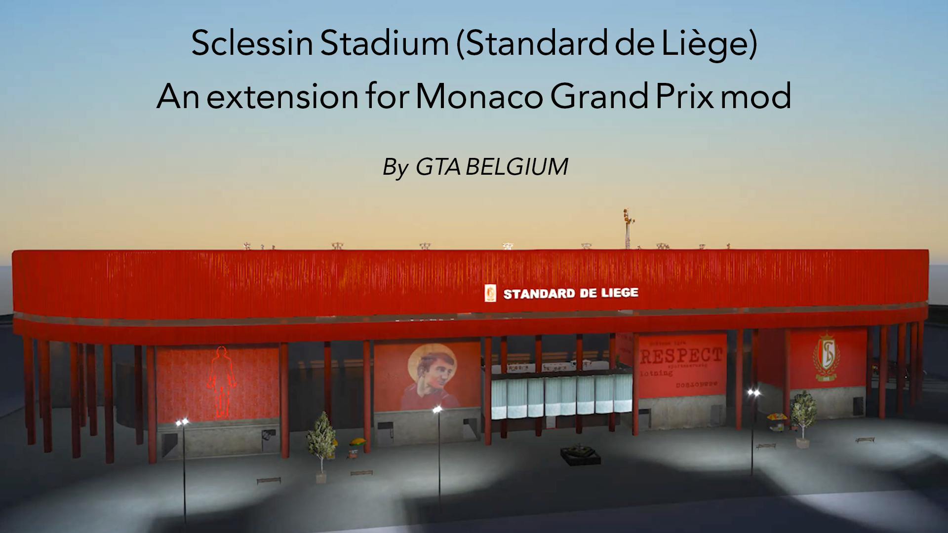 Stadium Expansion For Monaco Gp Stade Sclessin Gta5