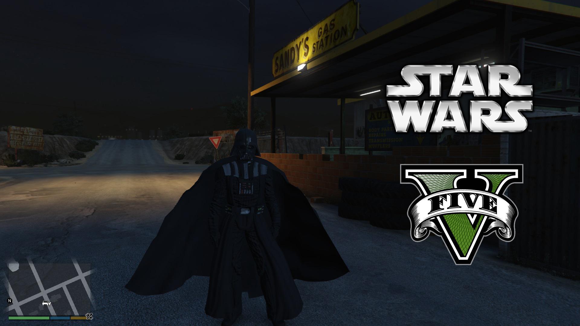 Star Wars Darth Vader [Ped]
