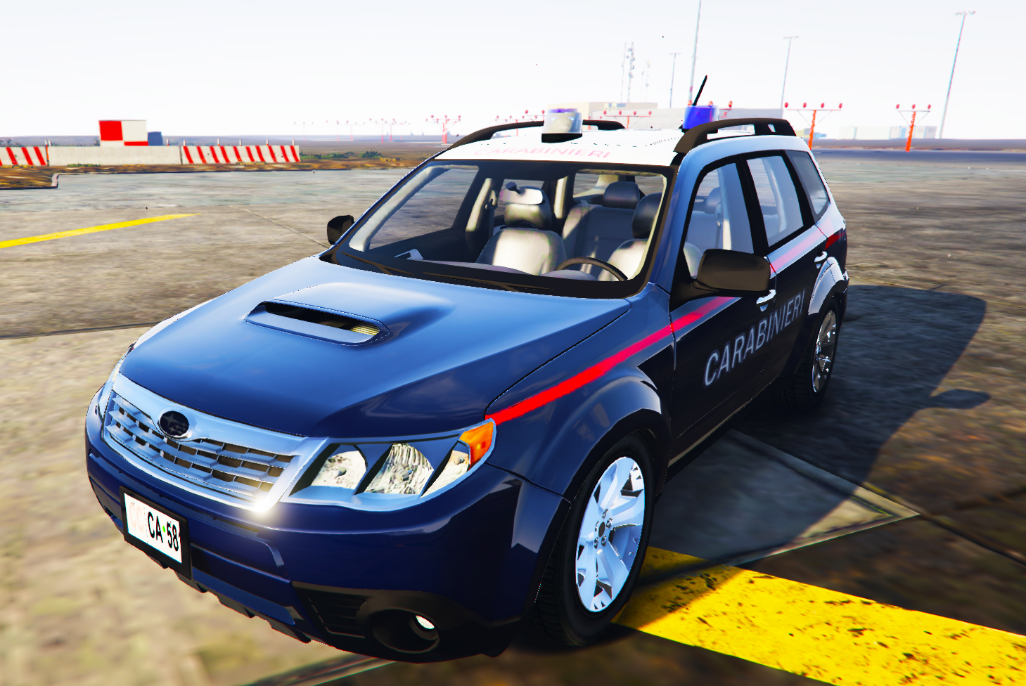 Subaru forester carabinieri gta5 for Subaru forester paint job cost