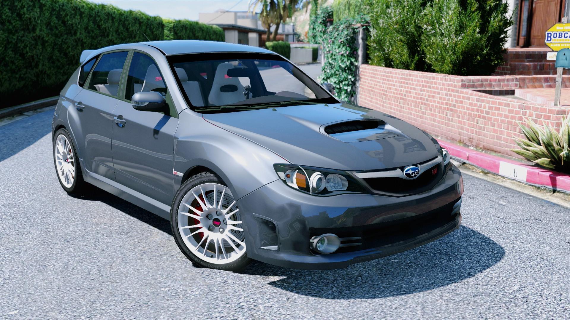Subaru Impreza Wrx Sti Gta5 Mods Com
