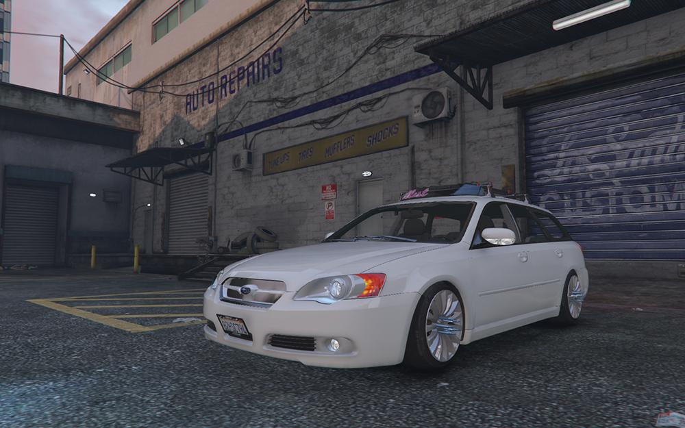 subaru legacy touring wagon bp5 gta5. Black Bedroom Furniture Sets. Home Design Ideas