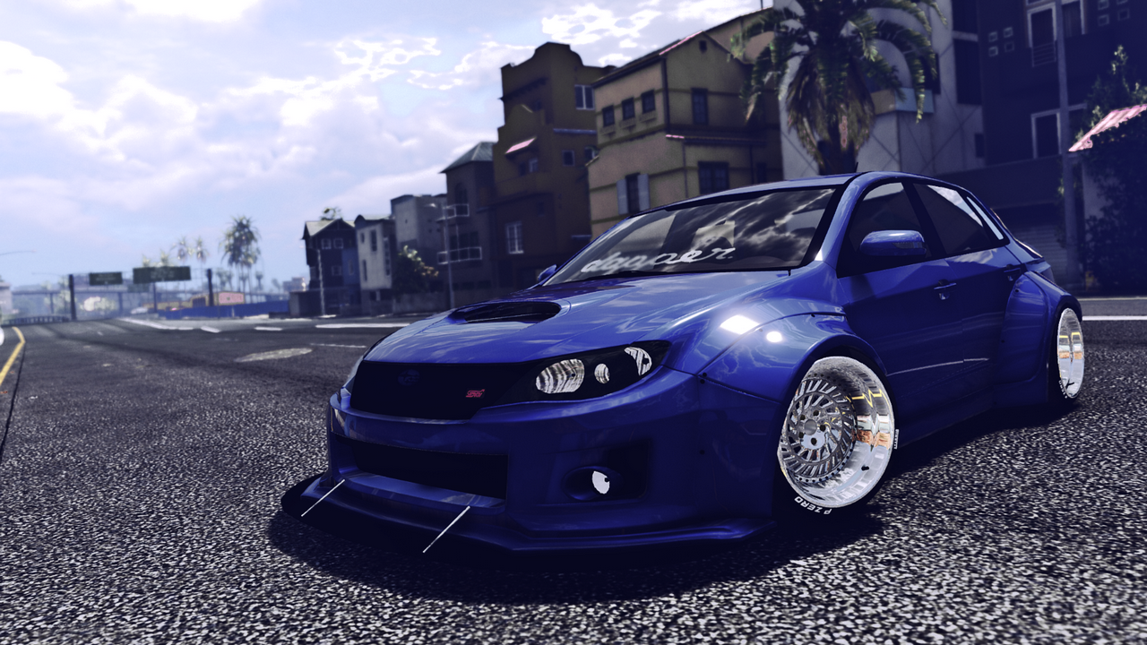 subaru wrx sti widebody gta5. Black Bedroom Furniture Sets. Home Design Ideas