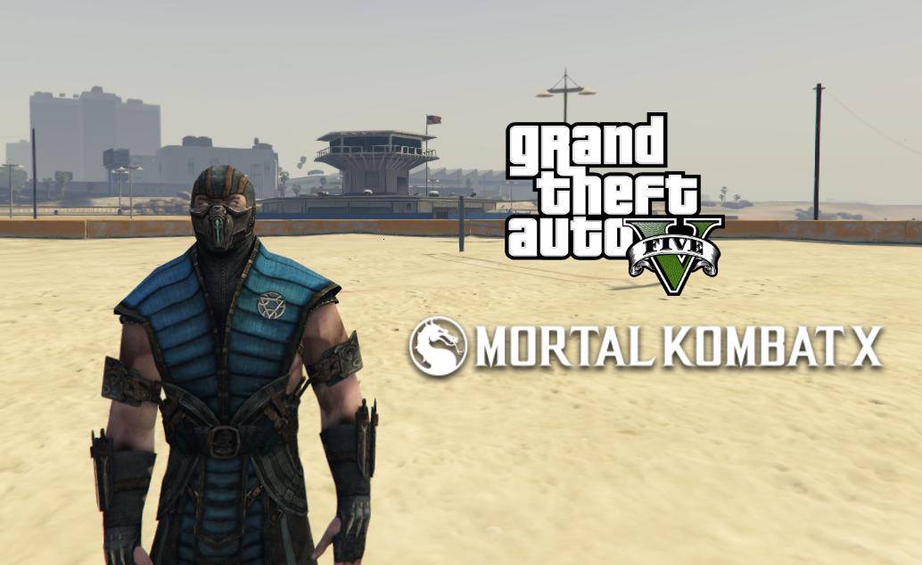 SubZero - Mortal Kombat X [Add-On Ped] - GTA5-Mods com