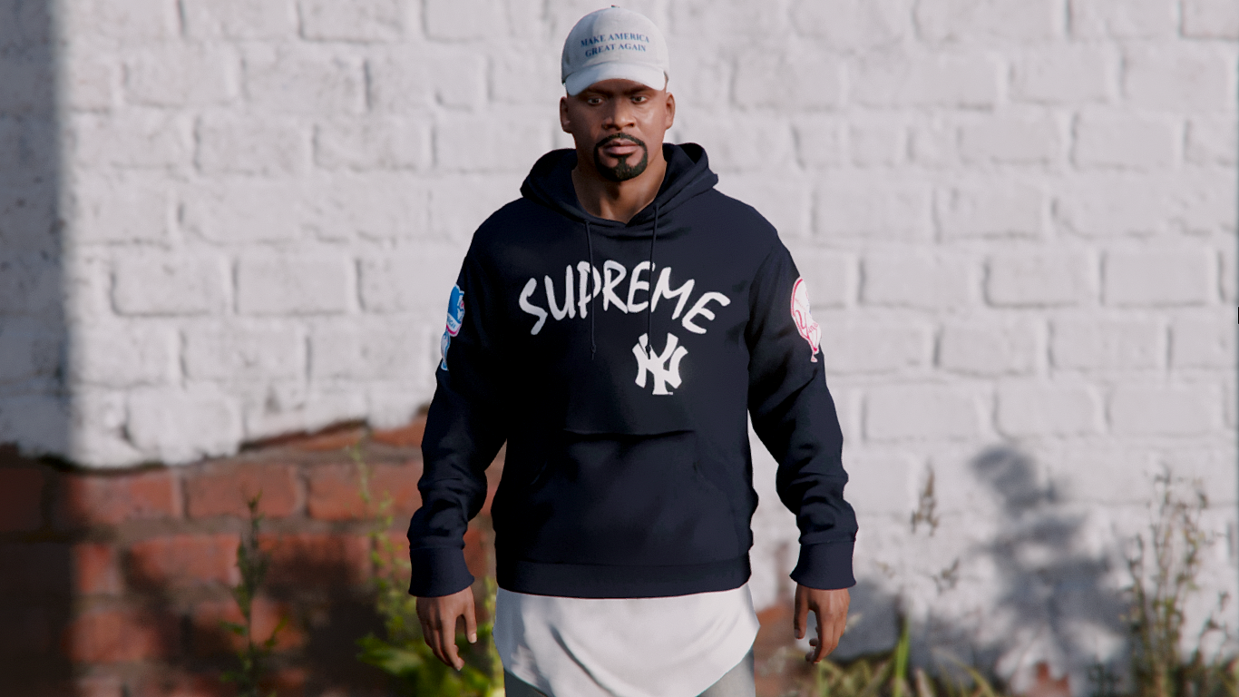 info for fe188 6b139 Supreme x NY Yankee's - Pullover hoodie - GTA5-Mods.com