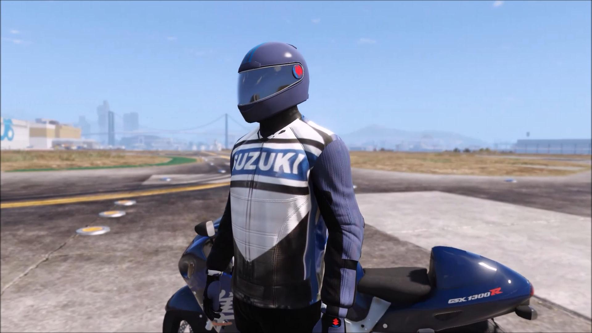 Suzuki Racing Suit - GTA5-Mods.com