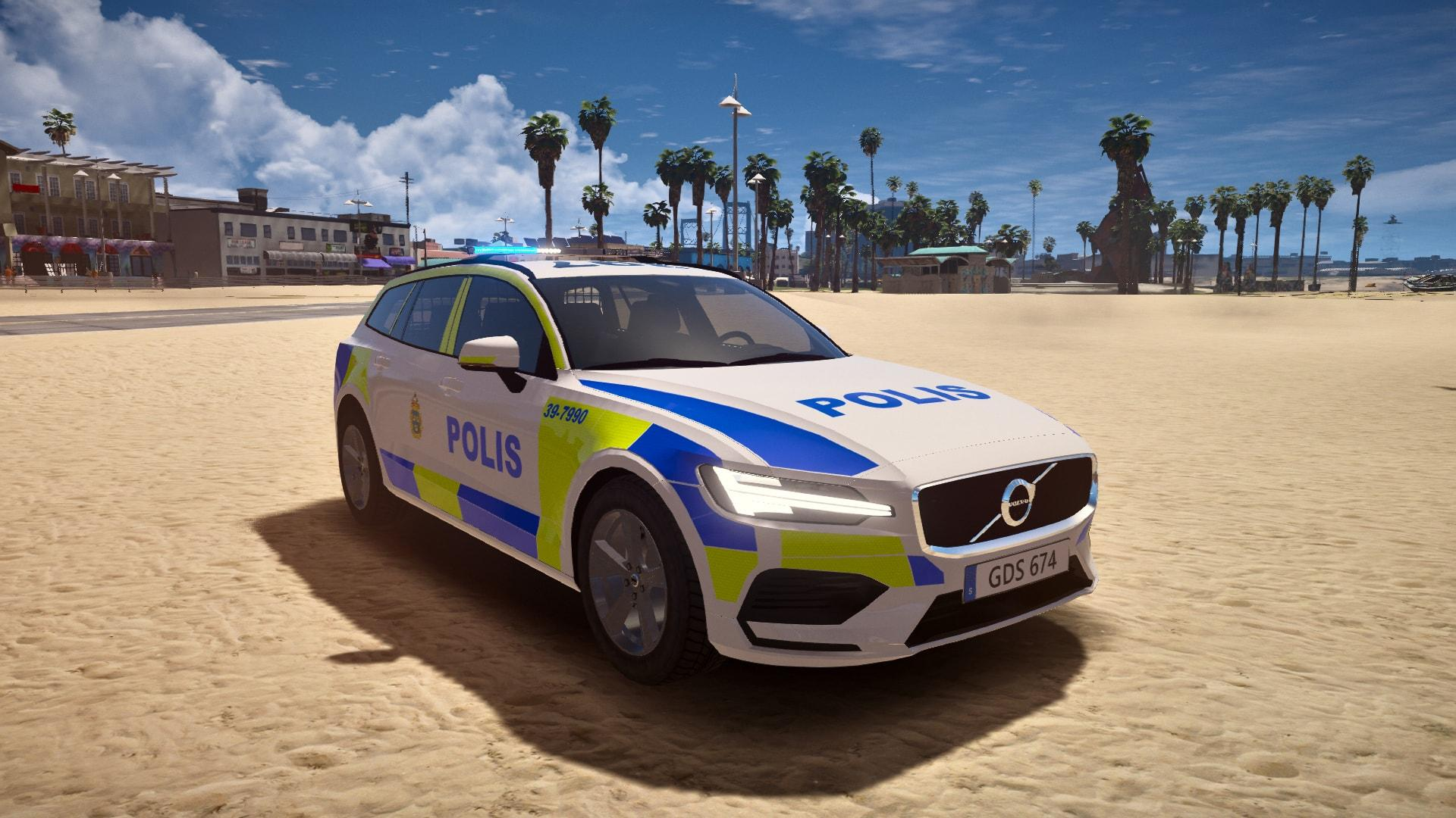 Swedish Police 2019 Volvo V60 PACK - GTA5-Mods.com