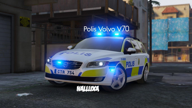 Swedish Police Polis Volvo V70 4k Gta5 Mods Com