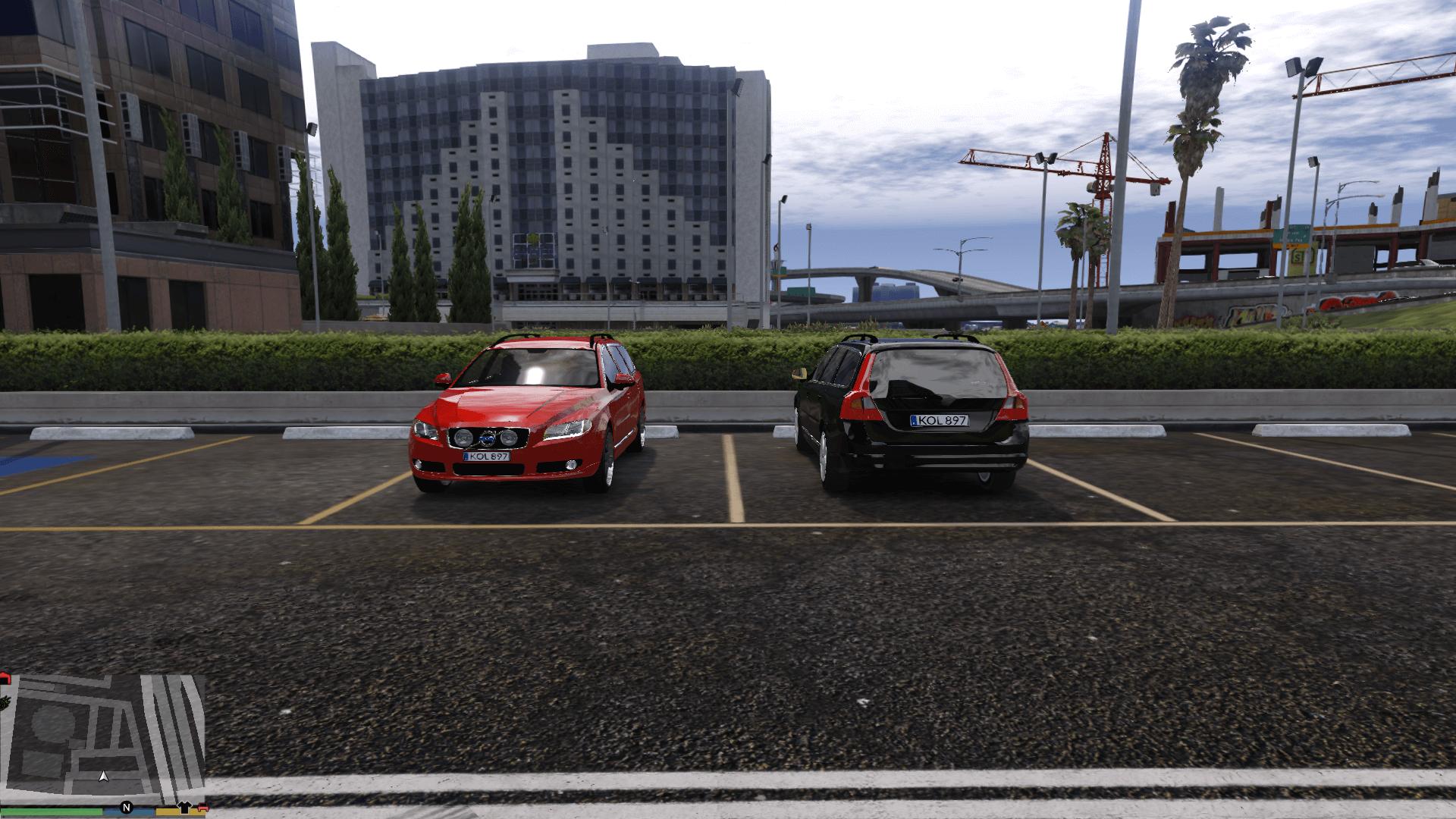 Swedish Volvo V70 Ii Stock Gta5 Mods Com